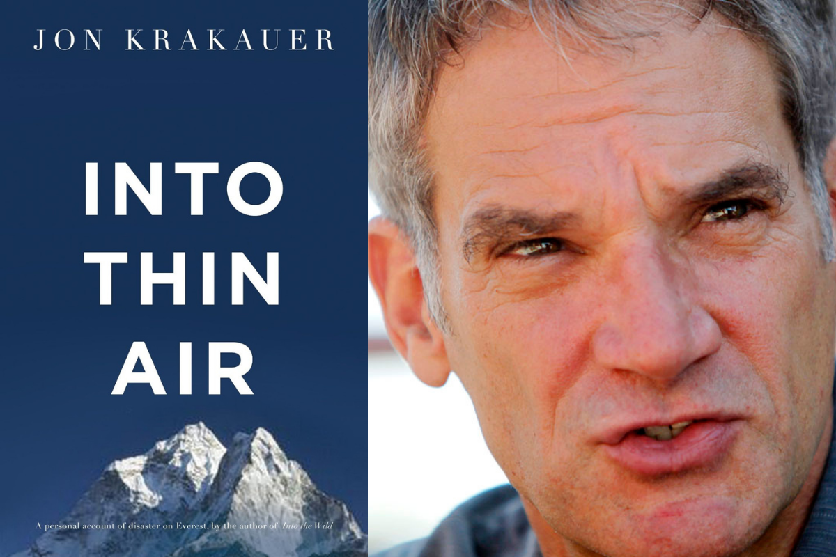 Into Thin Air: Everest As You Have Never Known It!
